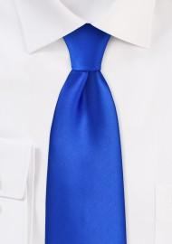 Marine Blue Kids Tie