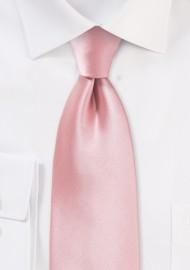 Petal Pink Hued Men's Tie