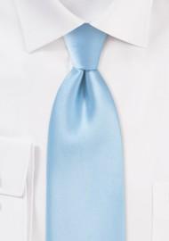 Solid Powder-Blue Mens Tie