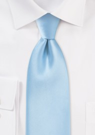 Solid light blue ties -...