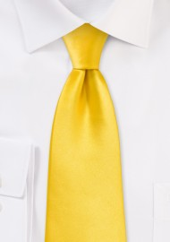 Sunbeam Yellow Necktie for Kids