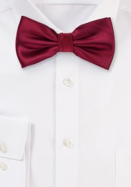 Toddler Bow Tie in Burgundy