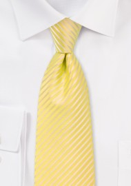 Spring and Summer Tie in Bright Yellow