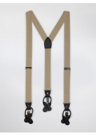 Tan Mens Suspenders