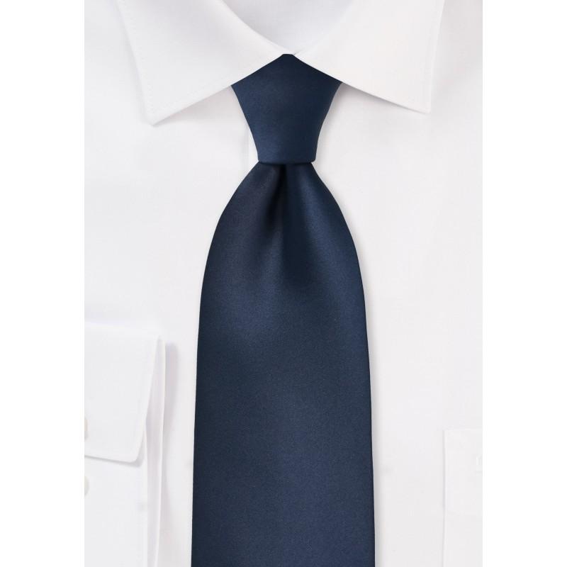 Midnight Blue Mens Necktie