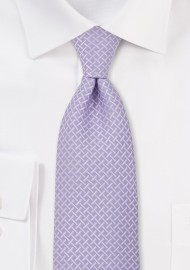 Mauve Colored Mens Tie