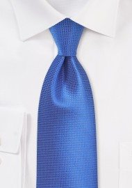 Solid Necktie in Victoria Blue