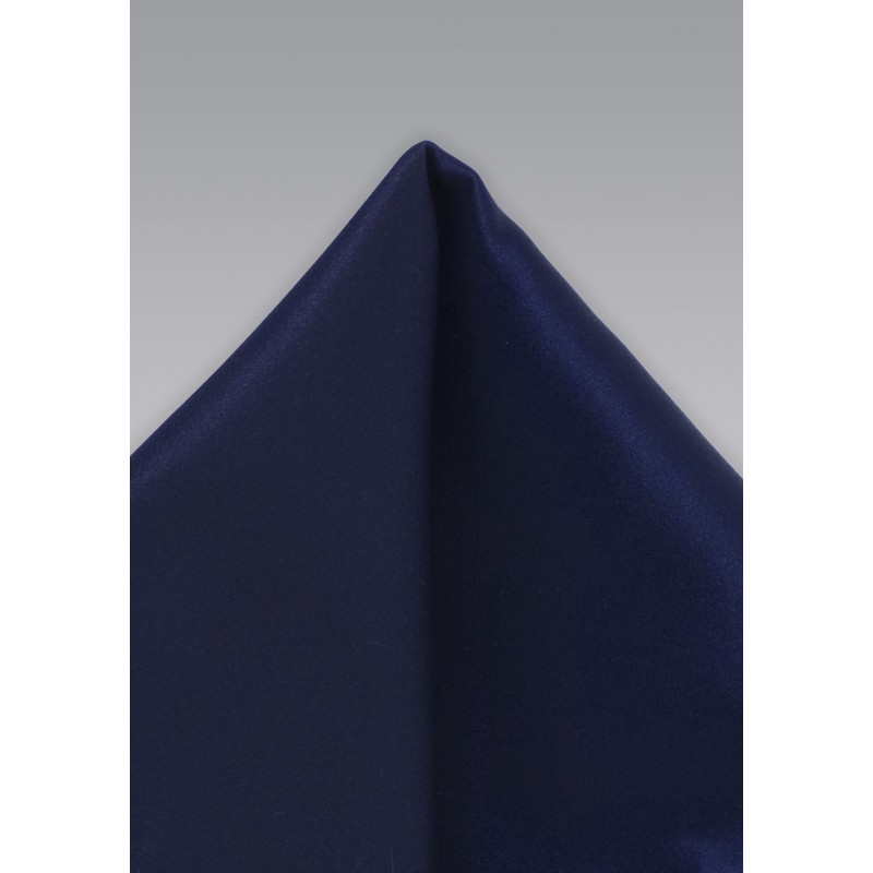 Dark Royal Blue Pocket Square