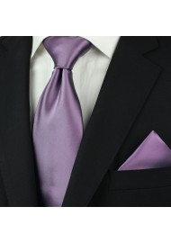 Wisteria Colored Necktie Styled