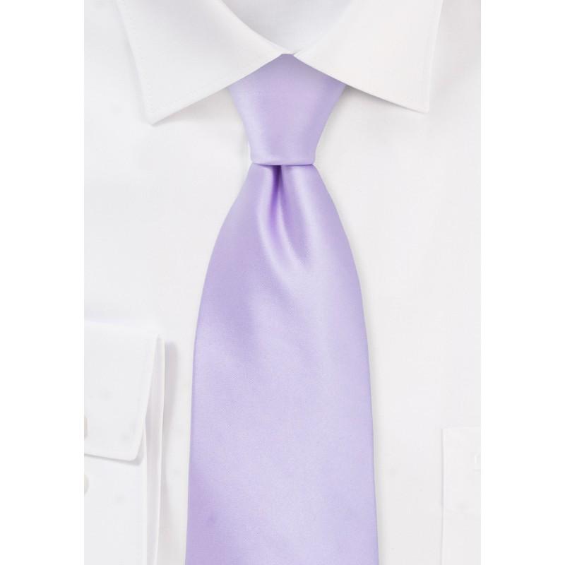 XL Tie in Soft Lavender