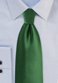 Forest Green Colored Necktie