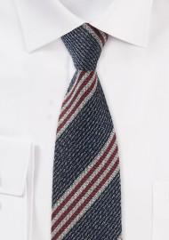 Vintage Striped Tie in Skinny Width