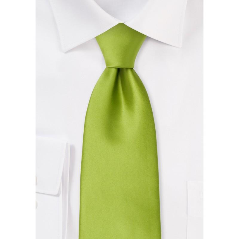 Bright Green Kids Tie