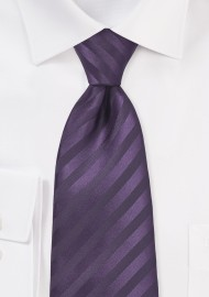 Two Toned Purple Tie in XL Length