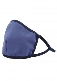 navy blue cotton filter face mask