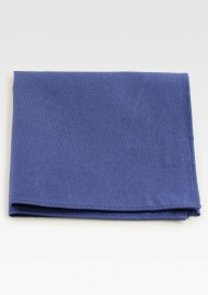 Indigo Blue Cotton Pocket Square
