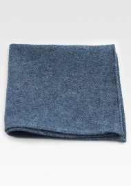 Cotton Hanky in Denim Blue