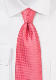 Summer Kids Length Tie in Coral Reef