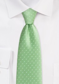 Light Green Tie in Light Green