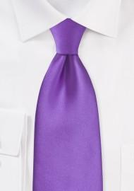 Kids Bright Purple Necktie