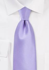 XL Length Tie in Violet Tulip