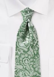 Clover Green Kids Paisley Tie