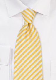 Kids Ties - Yellow Silk Tie for Kids