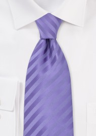 XL Length Lavender-Purple Mens Tie