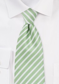 Seafoam Green Tie in Kids Length