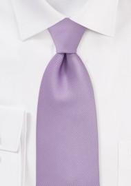 Textured Tie in Vintage Lilac
