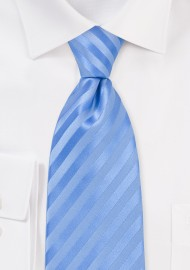 Tonal Light Blue Striped Tie