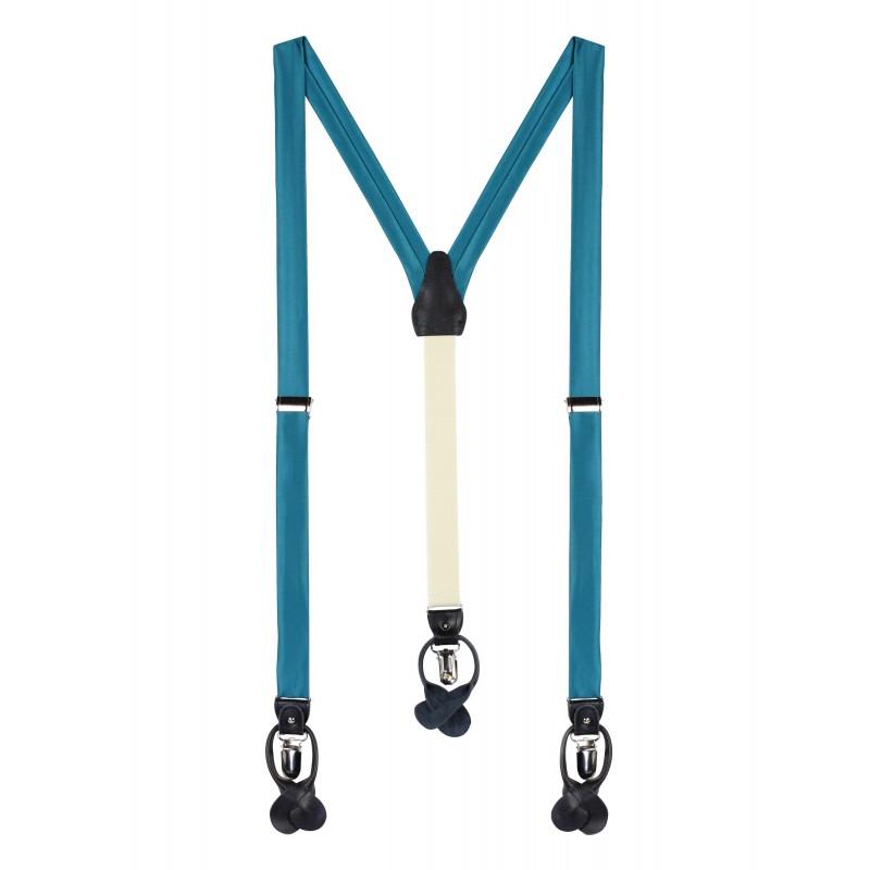Oasis Hued Fabric Suspenders