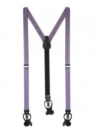 Wisteria Colored Suspenders