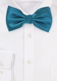 Oasis Green Colored Bow Tie