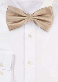 Light Golden Brown Bow Tie