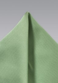 Sage Color Pocket Square