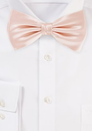 Bow Tie in Peach Blush