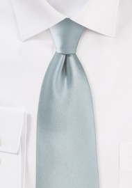 Dove Gray Color Tie
