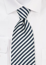 """Modern Striped Ties - Striped Tie """"Signals"""" by Parsley"""