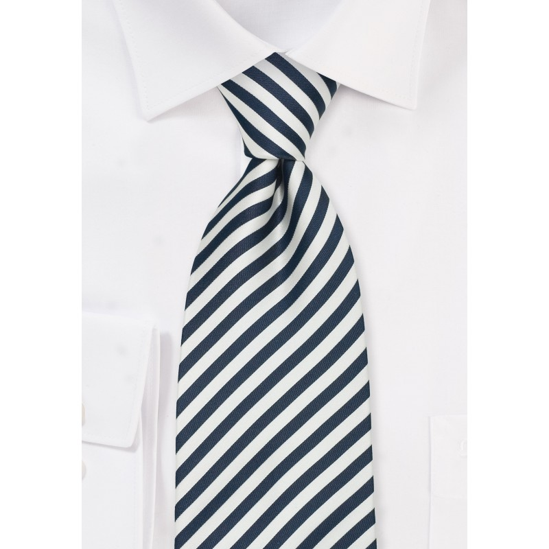 """Striped XL Business Neckties - Striped Tie """"Signals"""" by Parsley"""