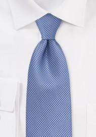 Textured Hydrangea Blue Tie