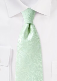 Seamist Paisley Tie