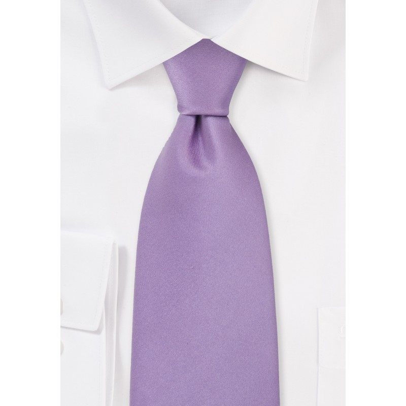 Solid Color Ties Light Lavender