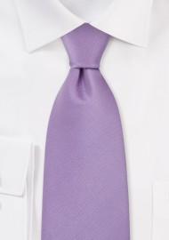 Light Lavender Kids Silk Necktie