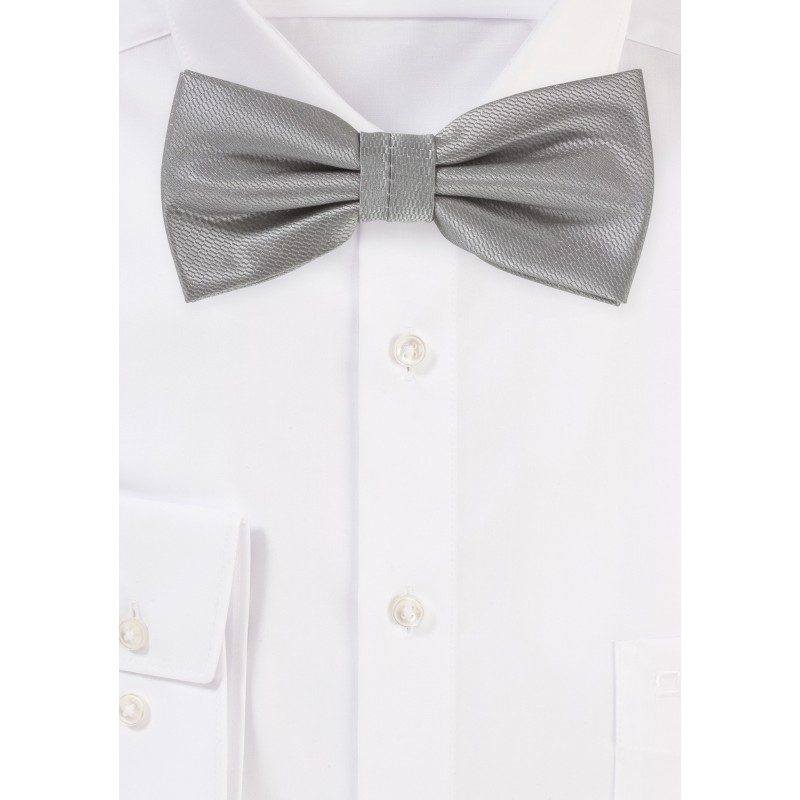 Suit and Tux Bow Tie in Sterling