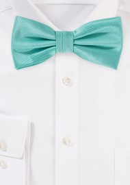 Beachy Wedding Bow Tie in Spa