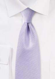 Herringbone Tie in Sweet Lavender