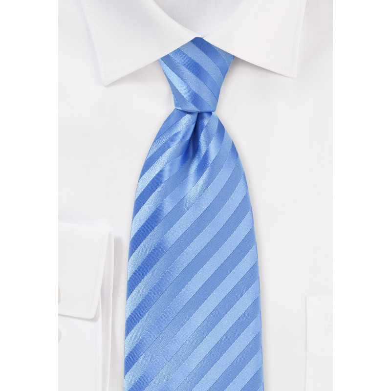 Cornflower Blue Extra Long Tie