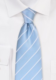 Blue Neckties - Light blue necktie