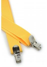 Mens Suspenders in Sunbeam Yellow Clips